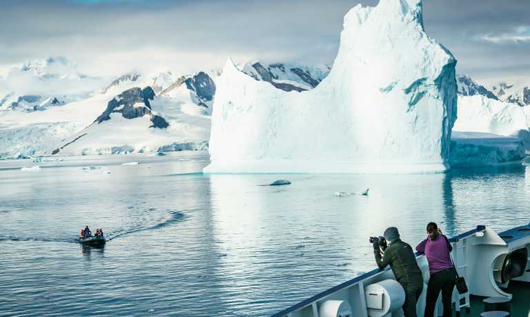 Onto the Antarctic Ice
