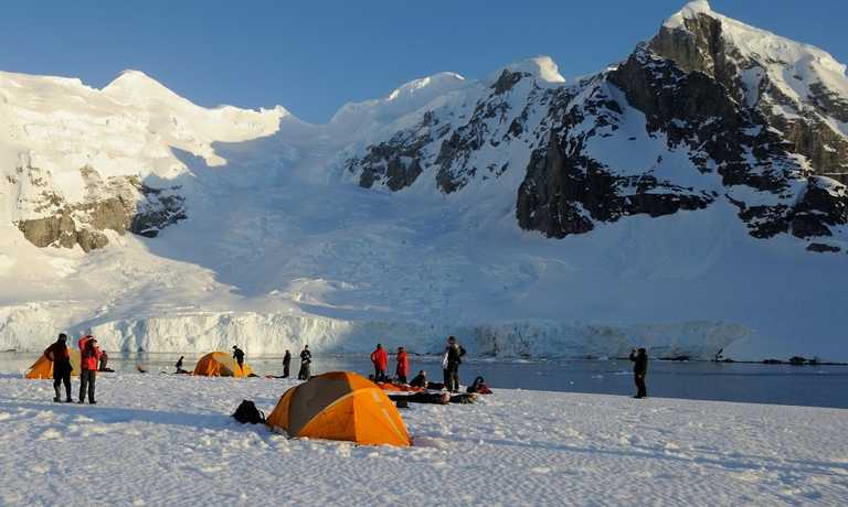 Antarctic Basecamp Adventure